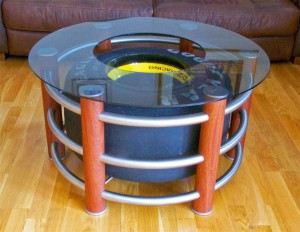 Goodyear Glass Table