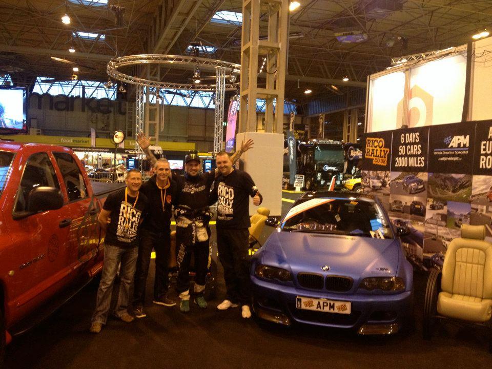 Japspeed Shane Lynch Top Gear Live