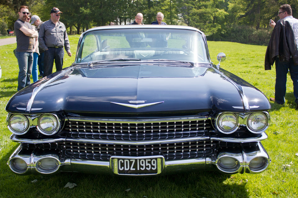 capesthorne hall, classic car show