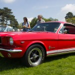 Ford Mustang, capesthorne hall, classic car show