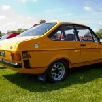 ford escort 1600 sport, capesthorne hall, classic car show