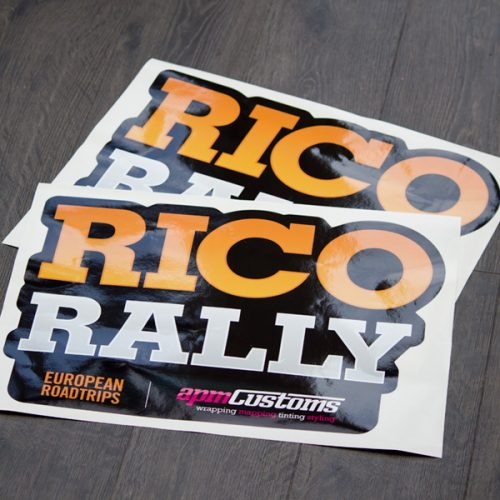Rico Rally Vehicle Sticker
