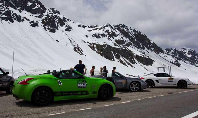 Porsche European Car Rally