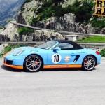 Gulf Porsche Boxster on Rico Rally