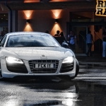 Audi R8 in Italy
