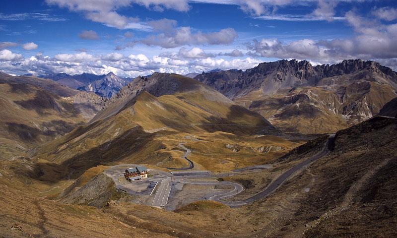 Rico Rally on Col du Galibier