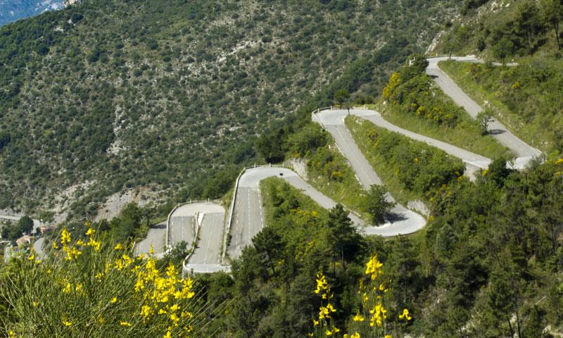 Col de Turini, Rico Rally Car Rally