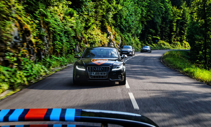 Audi European Car Rally