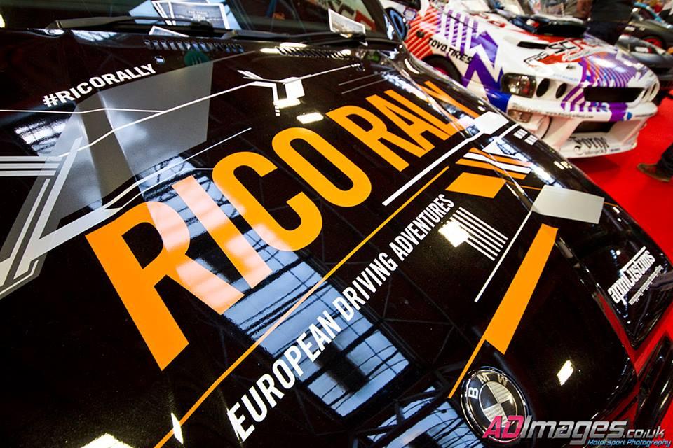 Rico Rally Gymkhana Grid Car