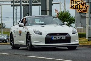 White Nissan GTR - Rico Rally
