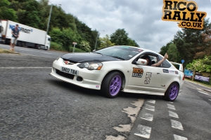 Honda Integra Typr R - European Car Rally
