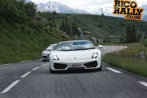 Lamborghini Gallardo in the Alps