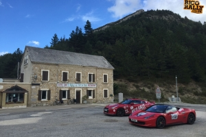 Ferrari 458 in the Alps