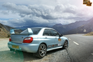Subaru in the Alps