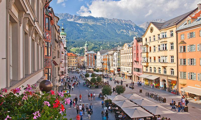 Innsbruck, on Rico Rally European Car Rally