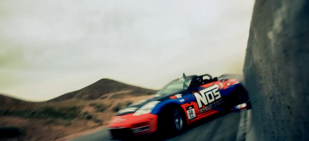 Drift Car Commercial with BTS