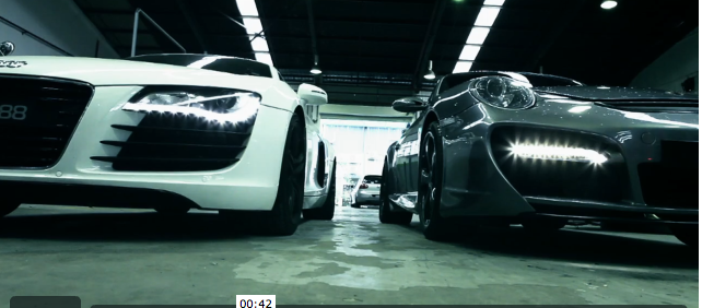 Audi R8 vs Porsche GT3