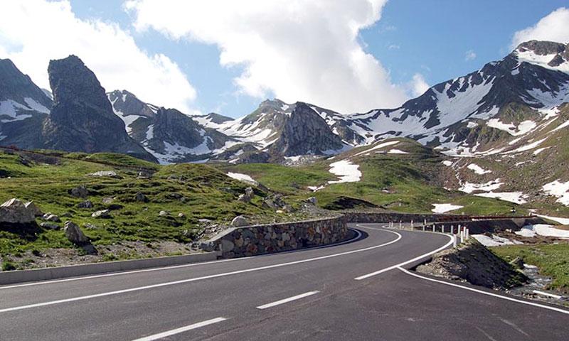 Rico Rally on Grand Saint Bernard Pass