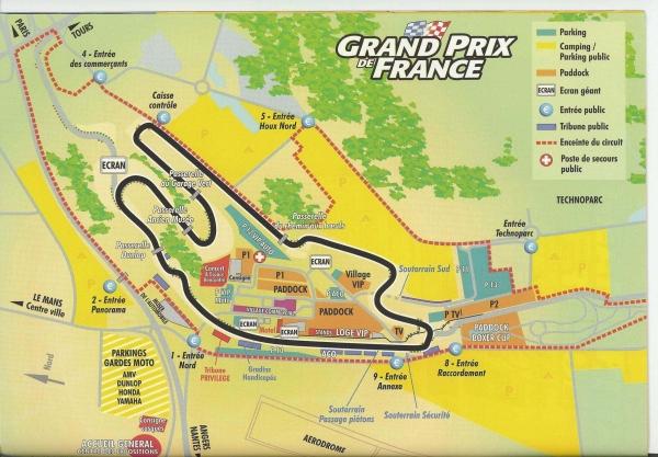 Le Mans Race Circuit