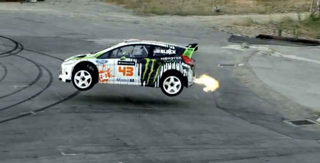 DC SHOES: KEN BLOCK'S GYMKHANA FOUR