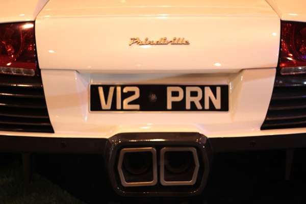 Prindiville LP640 at Top Gear Live