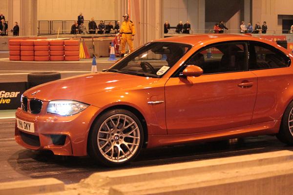 BMW 1M at Top Gear Live