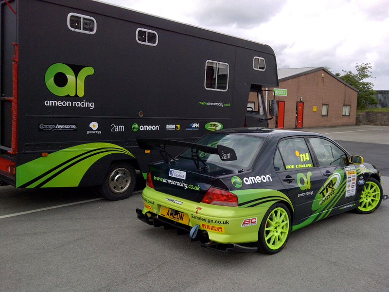 Vehicle Wrapping Rico Rally