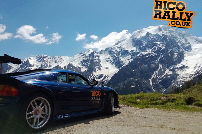Noble M12 GTO in the Alps