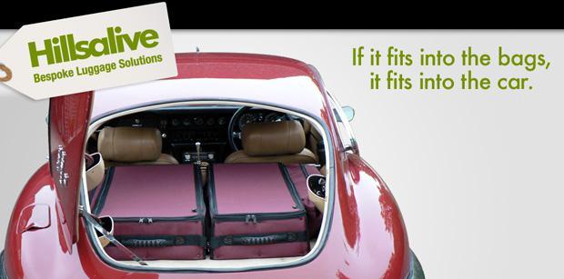 Hillsalive bespoke car luggage