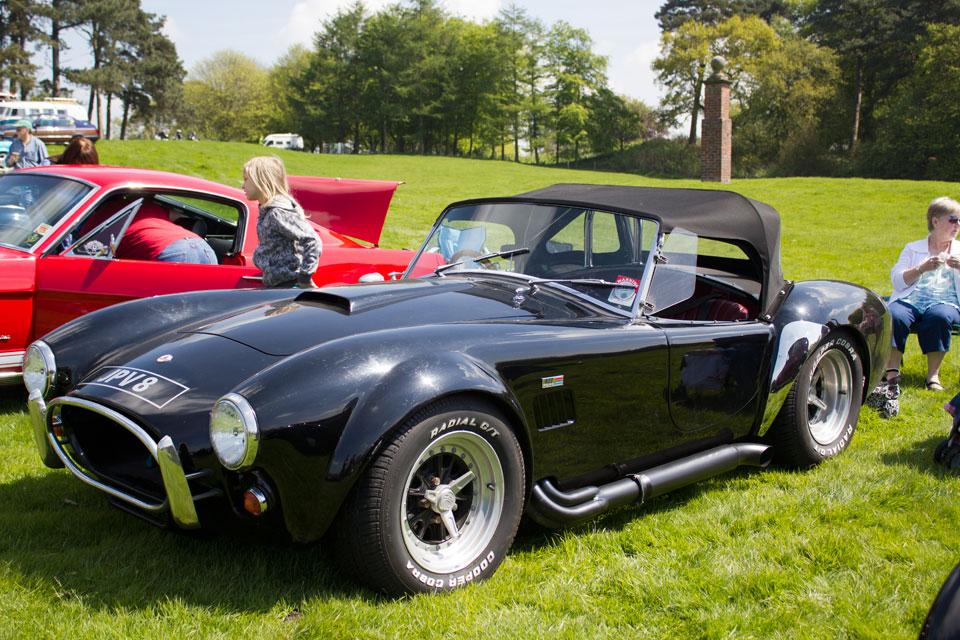AC Cobra, capesthorne hall, classic car show