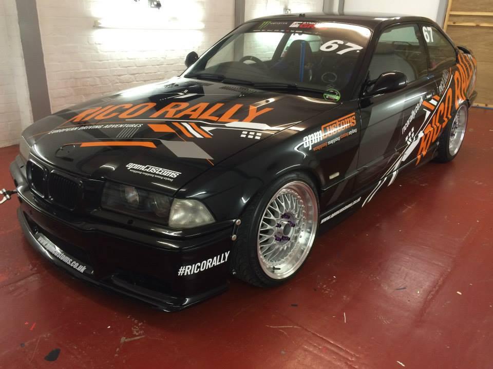 Rico Rally BMW Drift Car