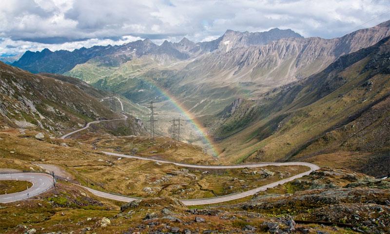 Nufenen Pass, Rico Rally European Car Rally