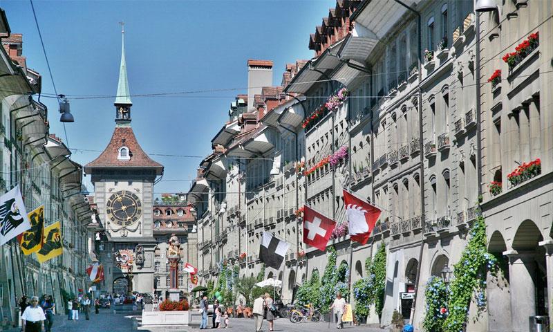 Bern, Switzerland, European Driving Adventure