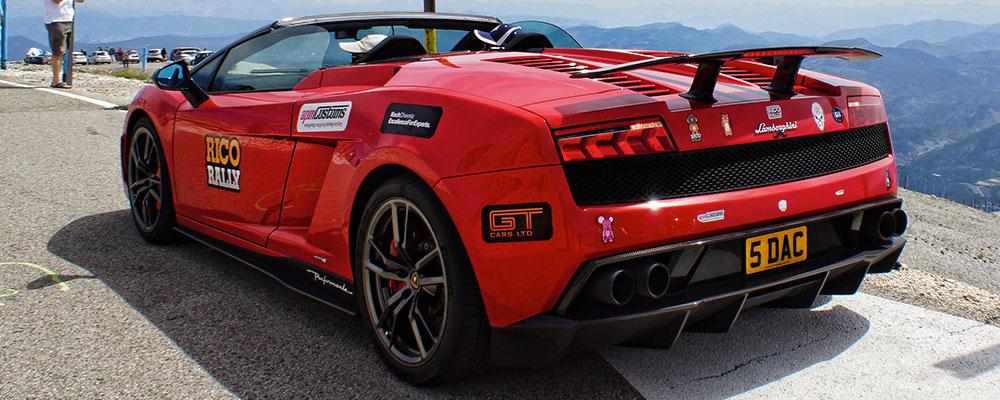 car rally sponsor