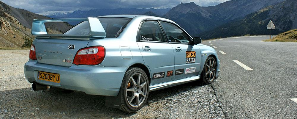 sponsor a car rally