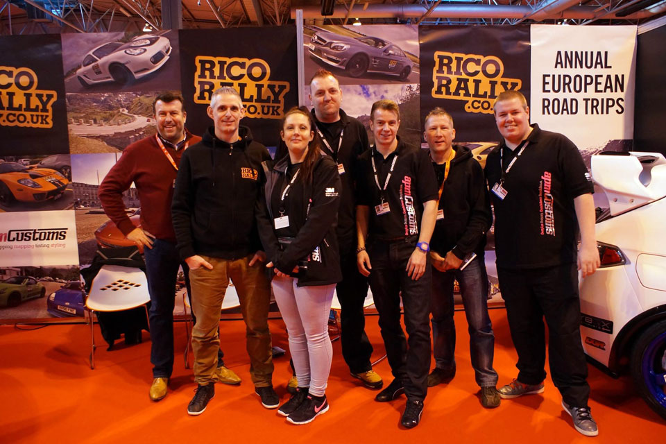 Rico Rally at Autosport International 2015