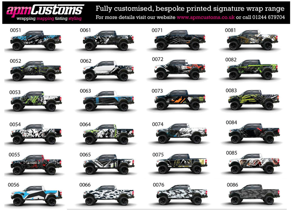 Full Colour Printed Vehicle Wrap