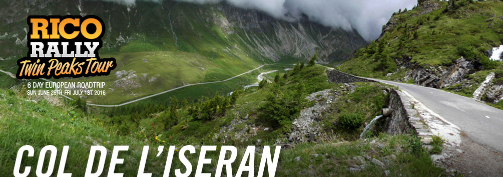 Col de L'Iseran, Car Rally Europe