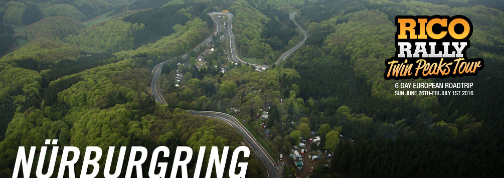 Drive the Nurburgring, Rico Rally
