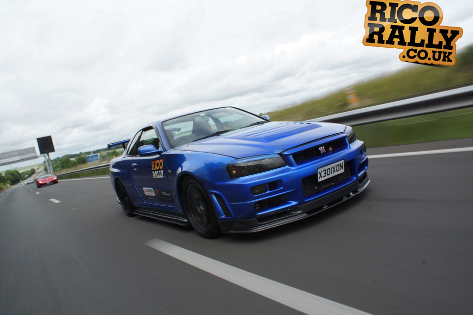 Nissan R34 Skyline - Car Rally Europe