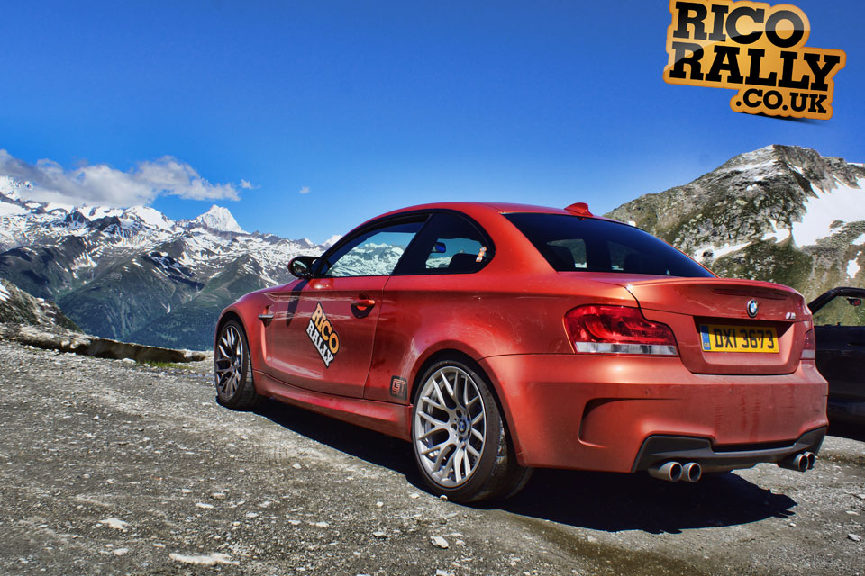 BMW 1M Swiss Alps