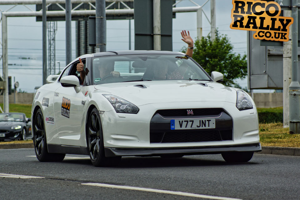 White Nissan GTR - Rico Rally