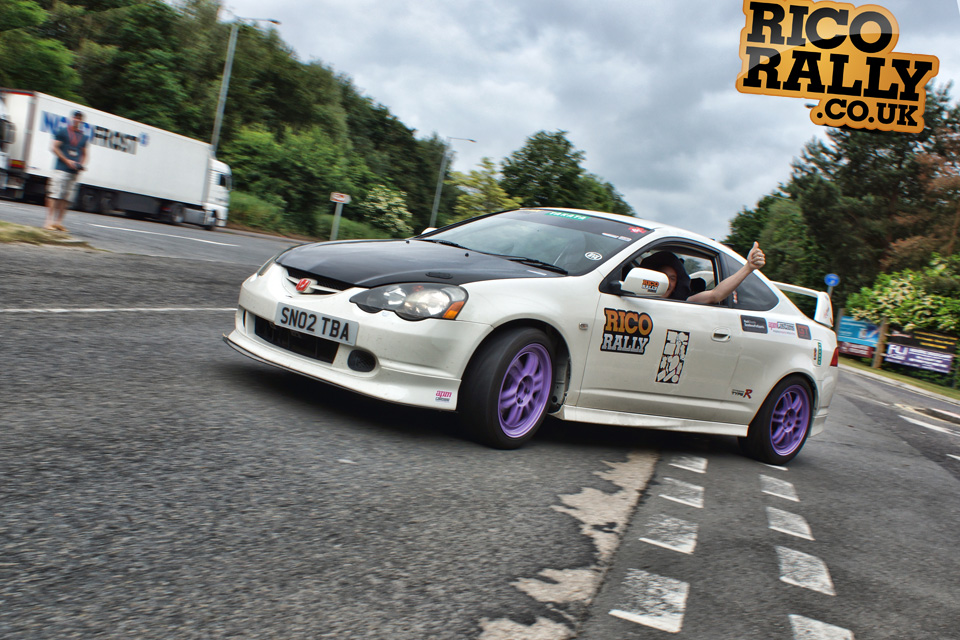 Honda Integra Typr R - European Car Rally