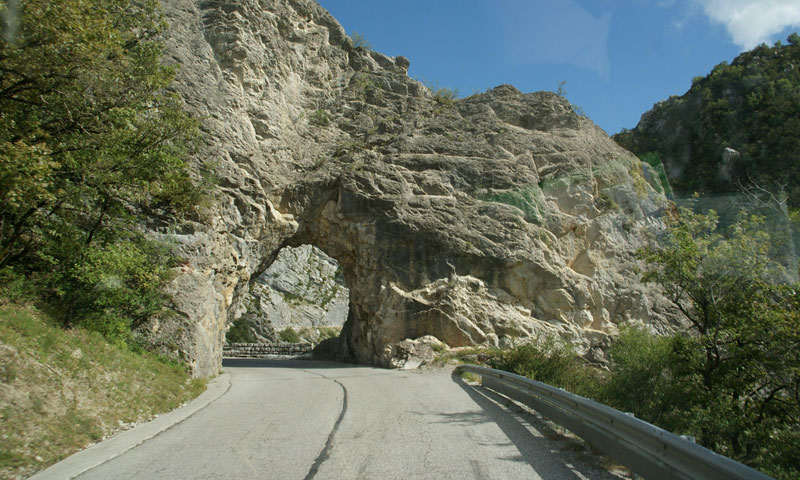 Drive Route Napoleon to Monaco