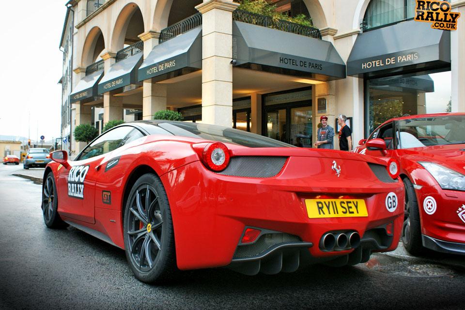 Ferrari in St Tropez