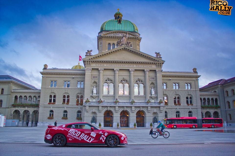 Nissan GTR in Switzerland