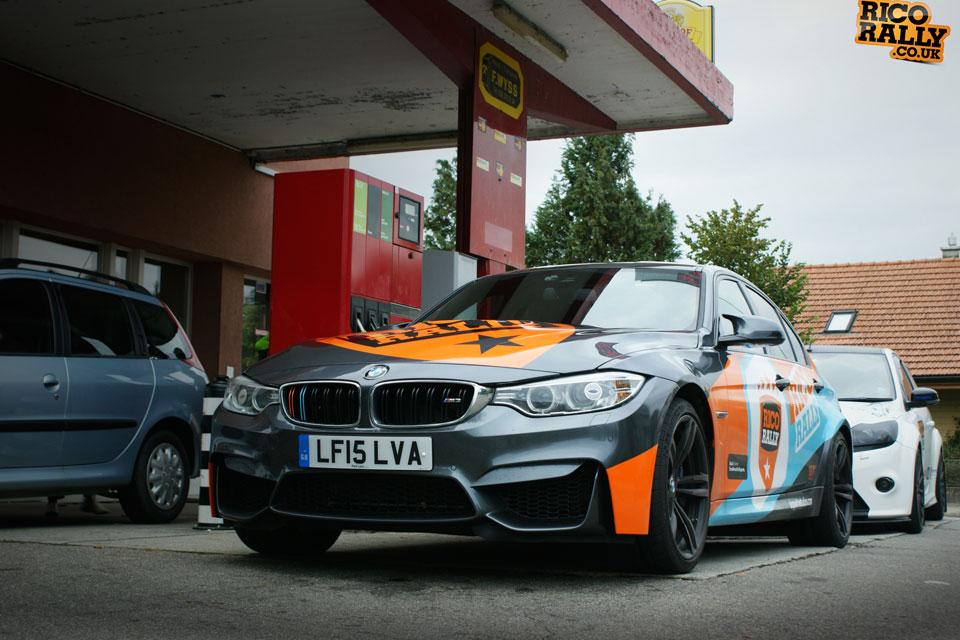 BMW European Car Rally