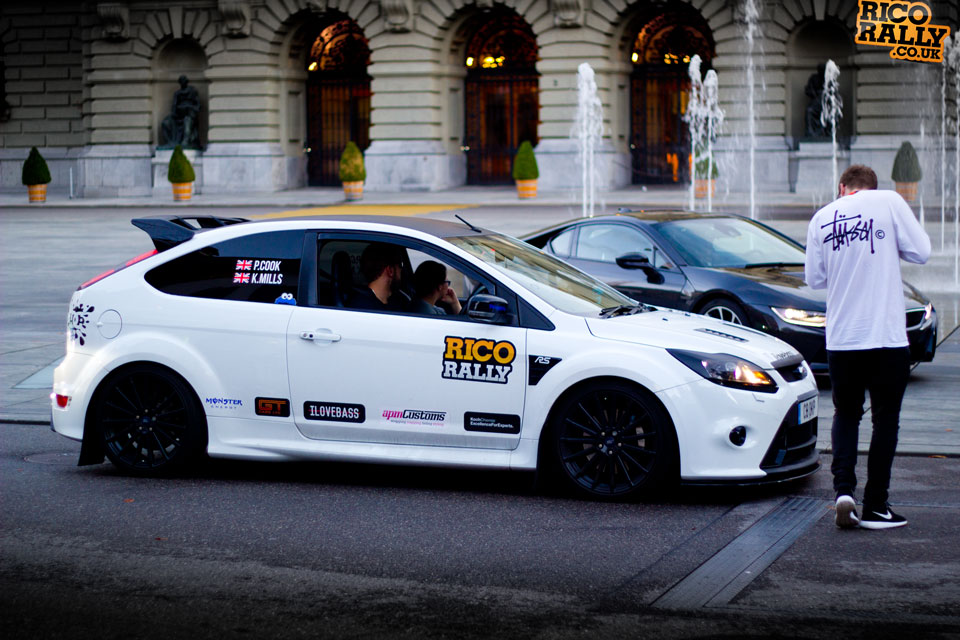 Ford RS Focus in Switzerland