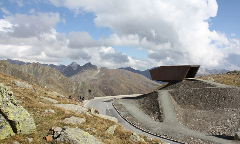 Timmelsjoch Pass, on Rico Rally European Car Rally