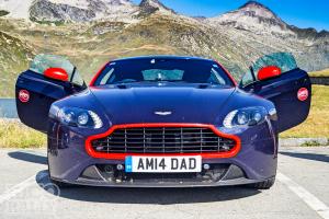 Aston Martin road trip